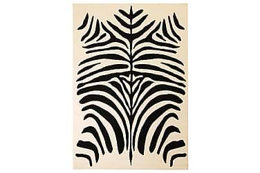 SINONI Modern Matta 160x230 Zebradesign Beige/Svart