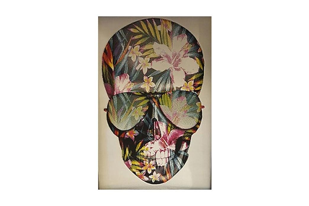 NY ARTIKEL - Groovy Skull Vit 120*170 - Möbler & Inredning - Mattor