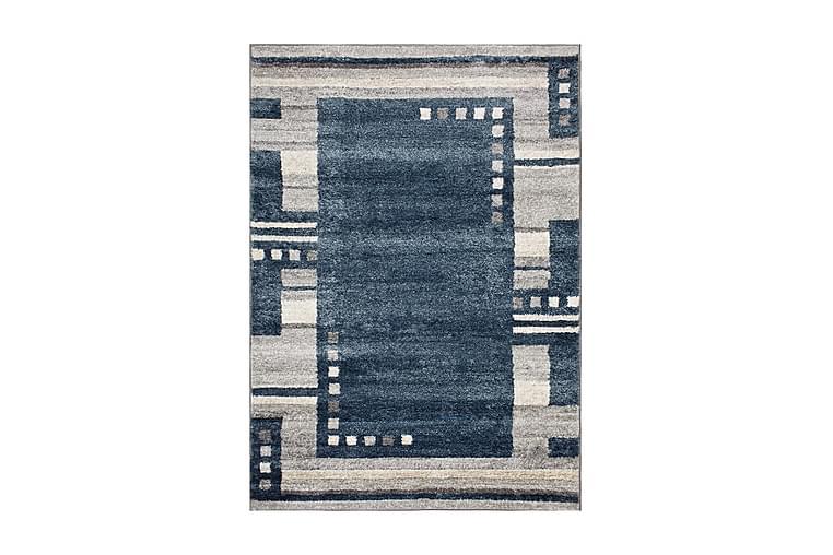 OLBIA Matta 200x300 Mörkblå/Ljusgrå - Möbler & Inredning - Mattor - Stora mattor