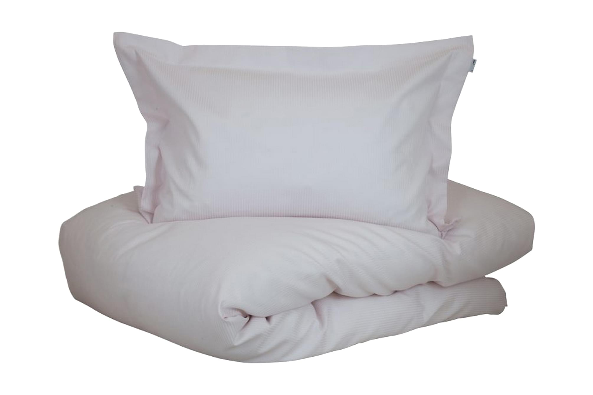 ALDERNEY Bäddset 150x210 cm Satin Rosa, Sängkläder