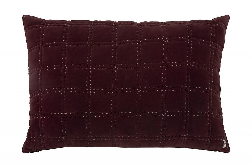 ARON Örngott 40x60 cm Burgundy/Sammet - Möbler & Inredning - Sängar - Sängkläder