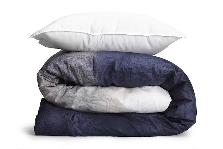 Bäddset Noah GOTS Ombre Blue 150x210+50x60 cm Vit/Blå - Möbler & Inredning - Sängar - Sängkläder