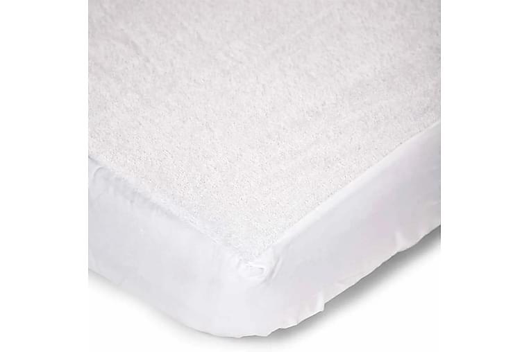CHILDHOME Madrasskydd för barn 70x140 cm MABWP140 - Vit - Möbler & Inredning - Sängar - Sängkläder