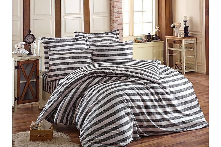 ENLORA HOME Bäddset Enkelt 3-dels Svart - Möbler & Inredning - Sängar - Sängkläder