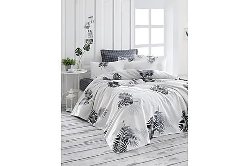 ENLORA HOME Överkast Grå, Sängkläder