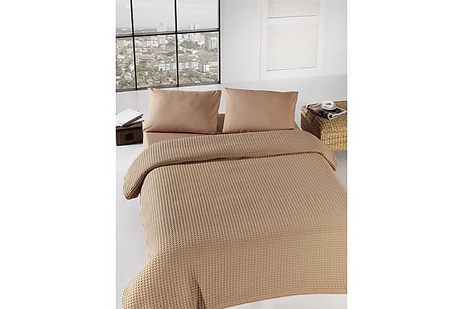EPONJ HOME Överkast Dubbelt 200x240 Brun - Inomhus - Sängar - Sängkläder