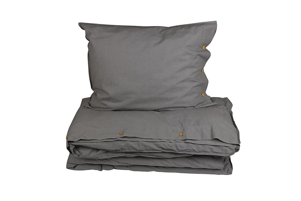 HYGGE Bäddset 150x210 cm Grå - Möbler & Inredning - Sängar - Sängkläder