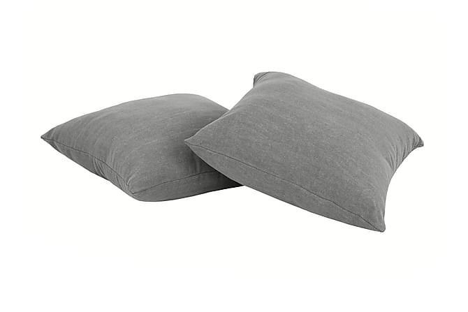 PIXEL Prydnadskudde 2-pack Visby Ljusgrå - Inomhus - Inredning - Prydnadskuddar & filtar