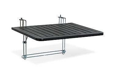 DALARÖ Balkongbord 60x52 Svartlackerad Akacia