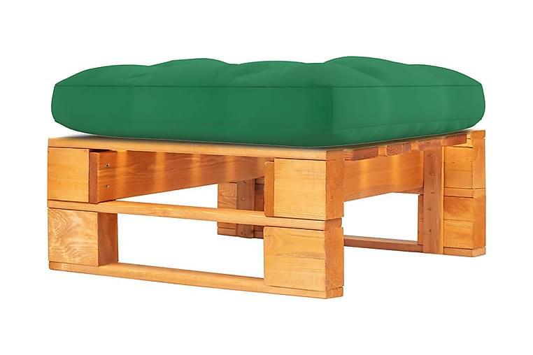 Pallottoman honungsbrun impregnerad furu - Brun - Utemöbler - Balkongmöbler - Balkongstolar