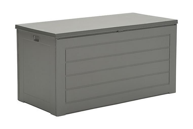 PRIMO Dynbox 146x71 cm Grå - Garden Impressions - Utemöbler - Dynförvaring & möbelskydd - Dynboxar & dynlådor