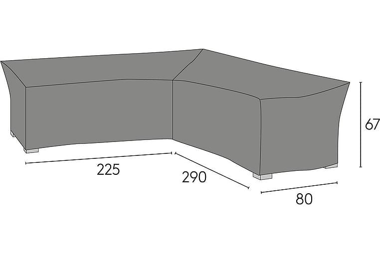 HILLERSTORP ESKILSTUNA Möbelskydd 80x290 cm Grå - Utemöbler - Tillbehör - Möbelöverdrag ute