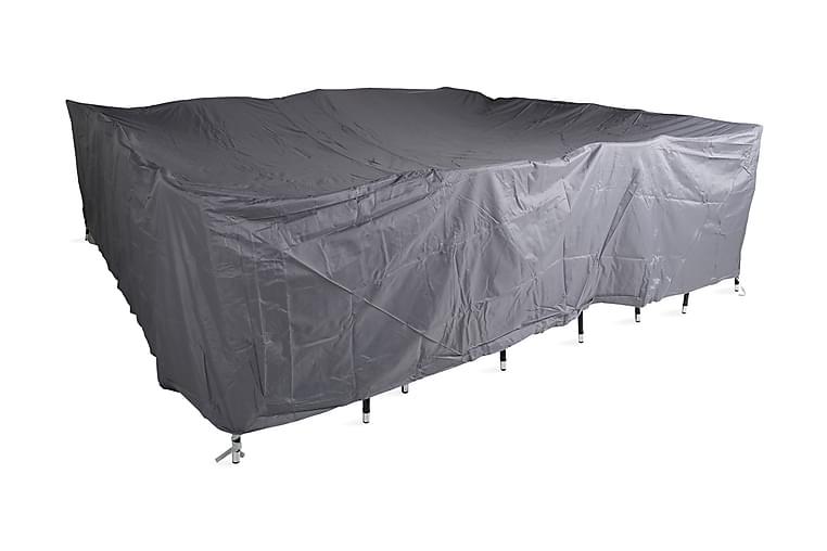 KARIBIB Möbelskydd 300x85x300 Grå - Utemöbler - Tillbehör - Möbelöverdrag ute