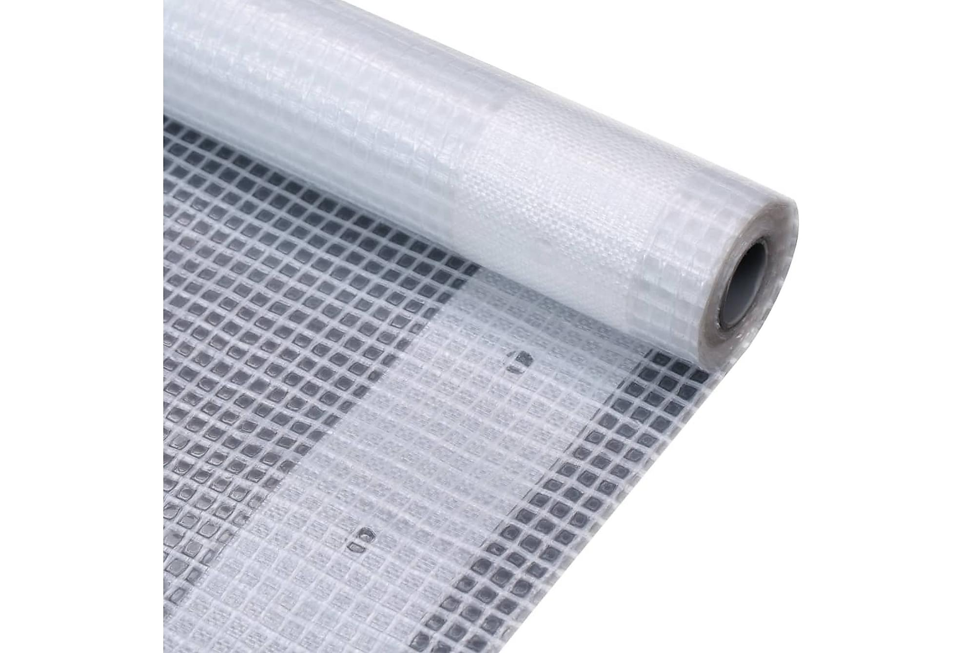 Leno presenning 260 g/m² 2x10 m vit, Presenningar
