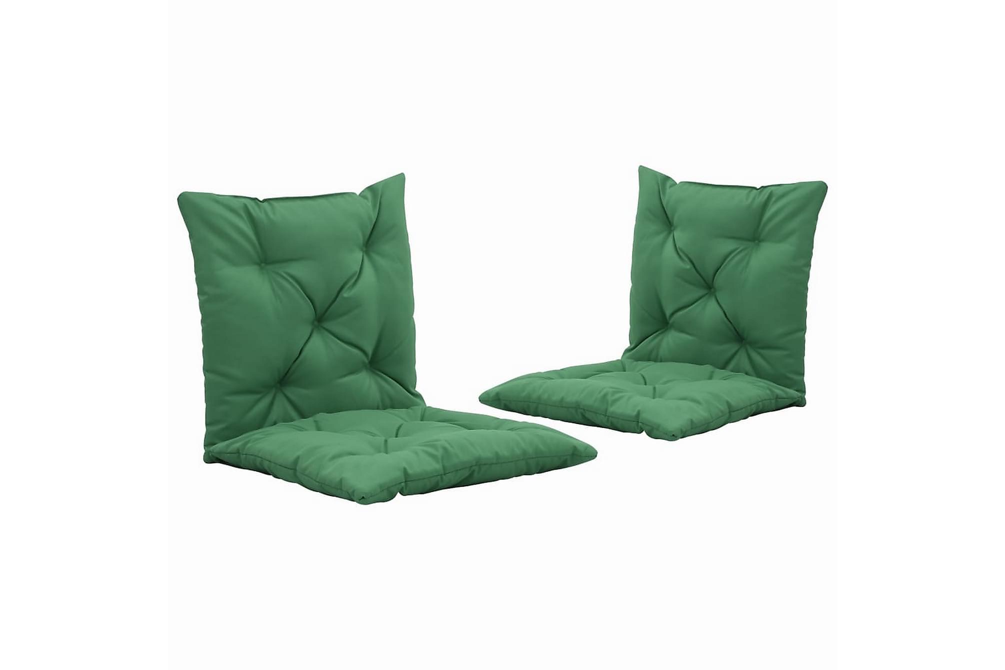 Dynor för hammock 2 st grön 50 cm, Hammockdynor