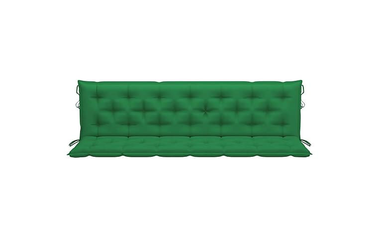 Hammockdyna grön 200 cm tyg - Utemöbler - Dynor - Hammockdynor