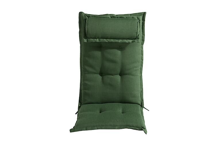 DYNA till Positionsstol med Nackkudde Grön - Utemöbler - Dynor - Positionsdynor