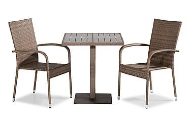BAHAMAS Caféset 70x70 + 2 THOR LIGHT Sand