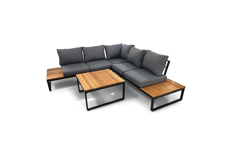 MORONGO Soffgrupp Grå - Utemöbler - Utemöbelgrupper - Loungemöbler