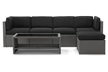 Rolls Loungegrupp 4-sits Grå