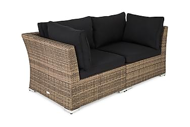 WISCONSIN HILLERSTORP Loungesoffa 2-sits med Armstöd Sand