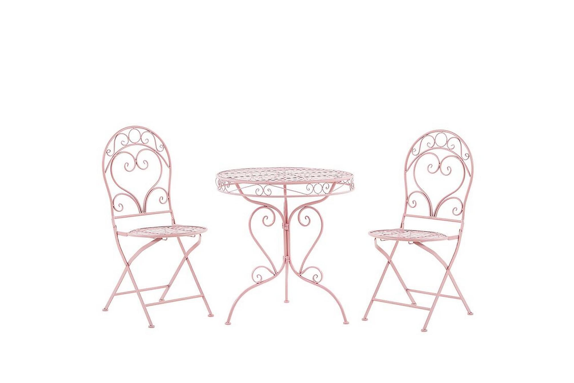 North rustico caféset rosa