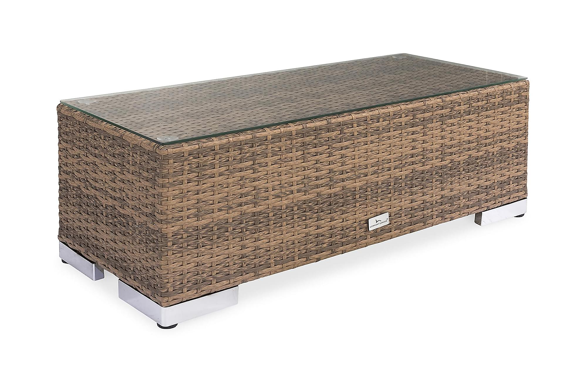 BAHAMAS Avslut 38x90 cm Sand, Loungemöbler