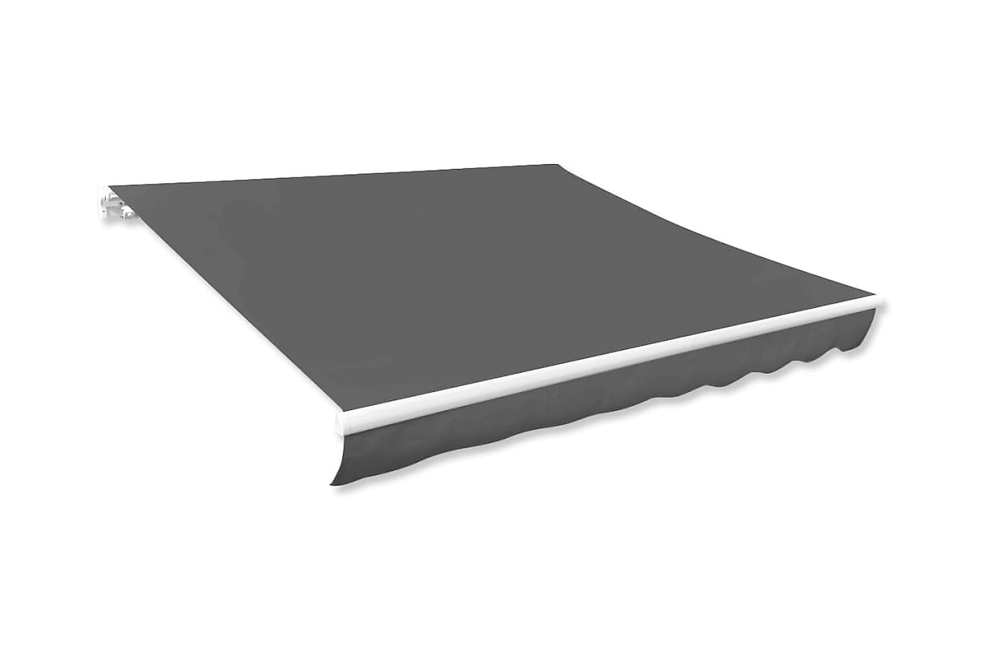 Markisduk antracit 500×300 cm