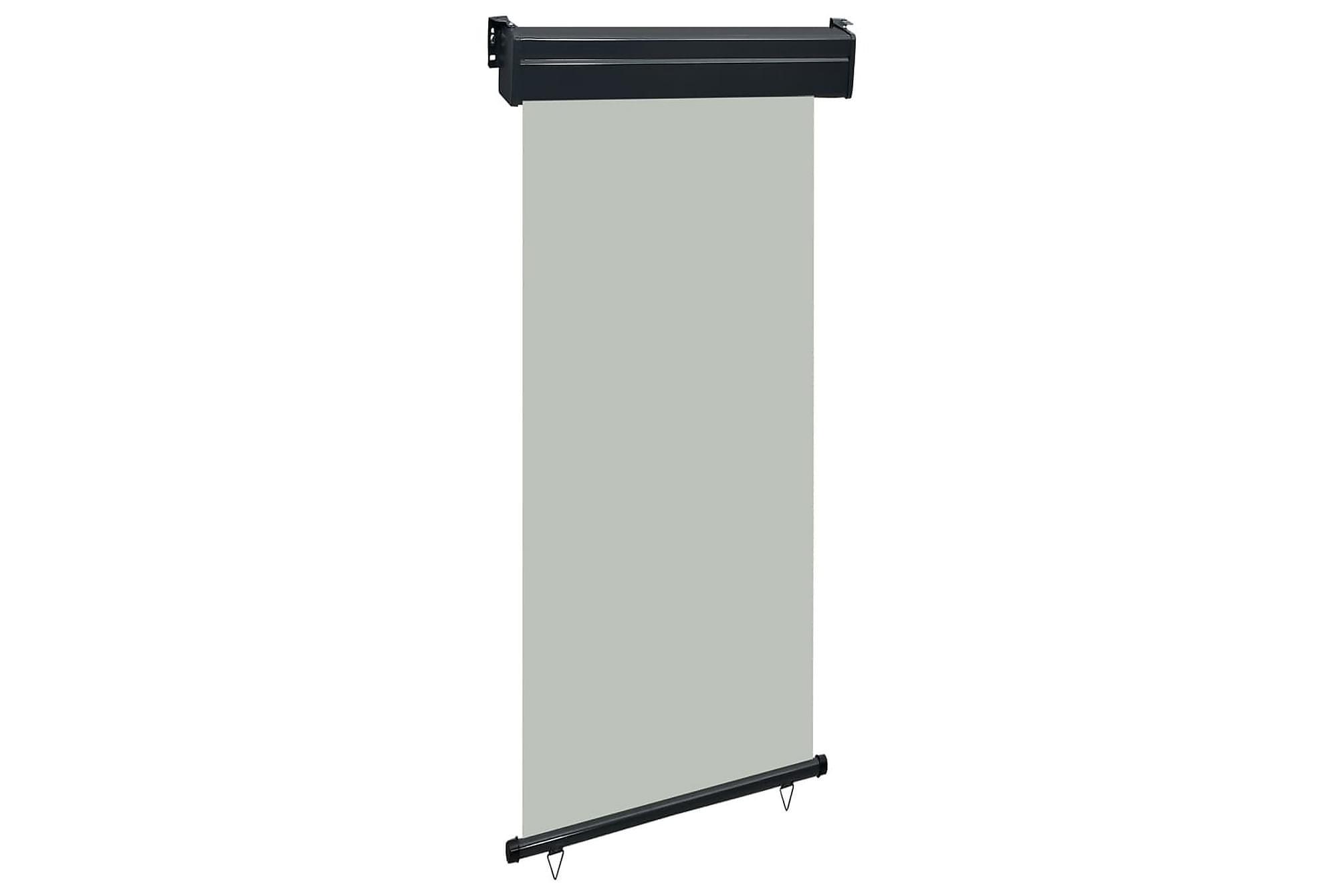 Balkongmarkis 100x250 cm grå, Markiser