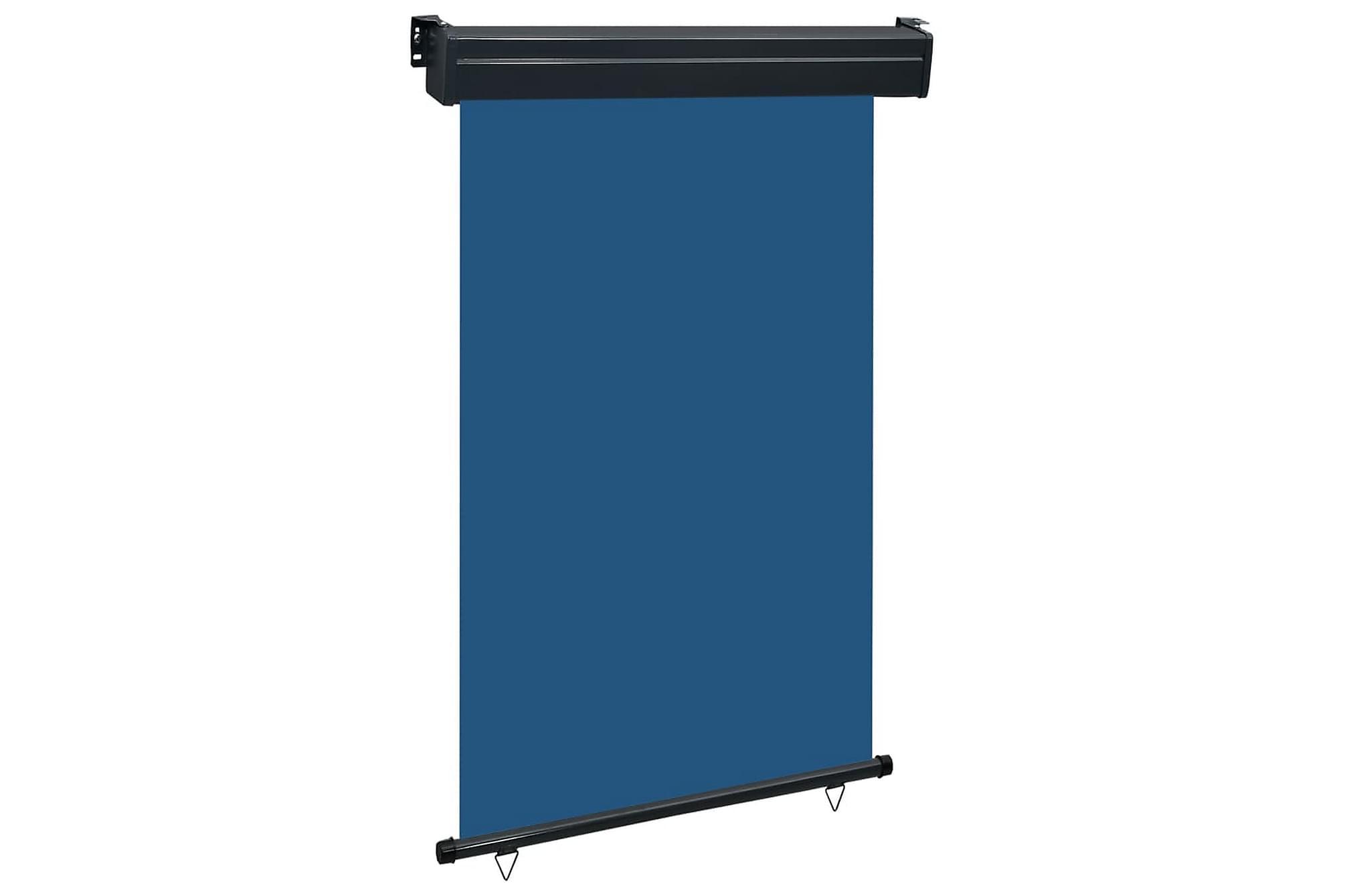 Balkongmarkis 120x250 cm blå, Markiser