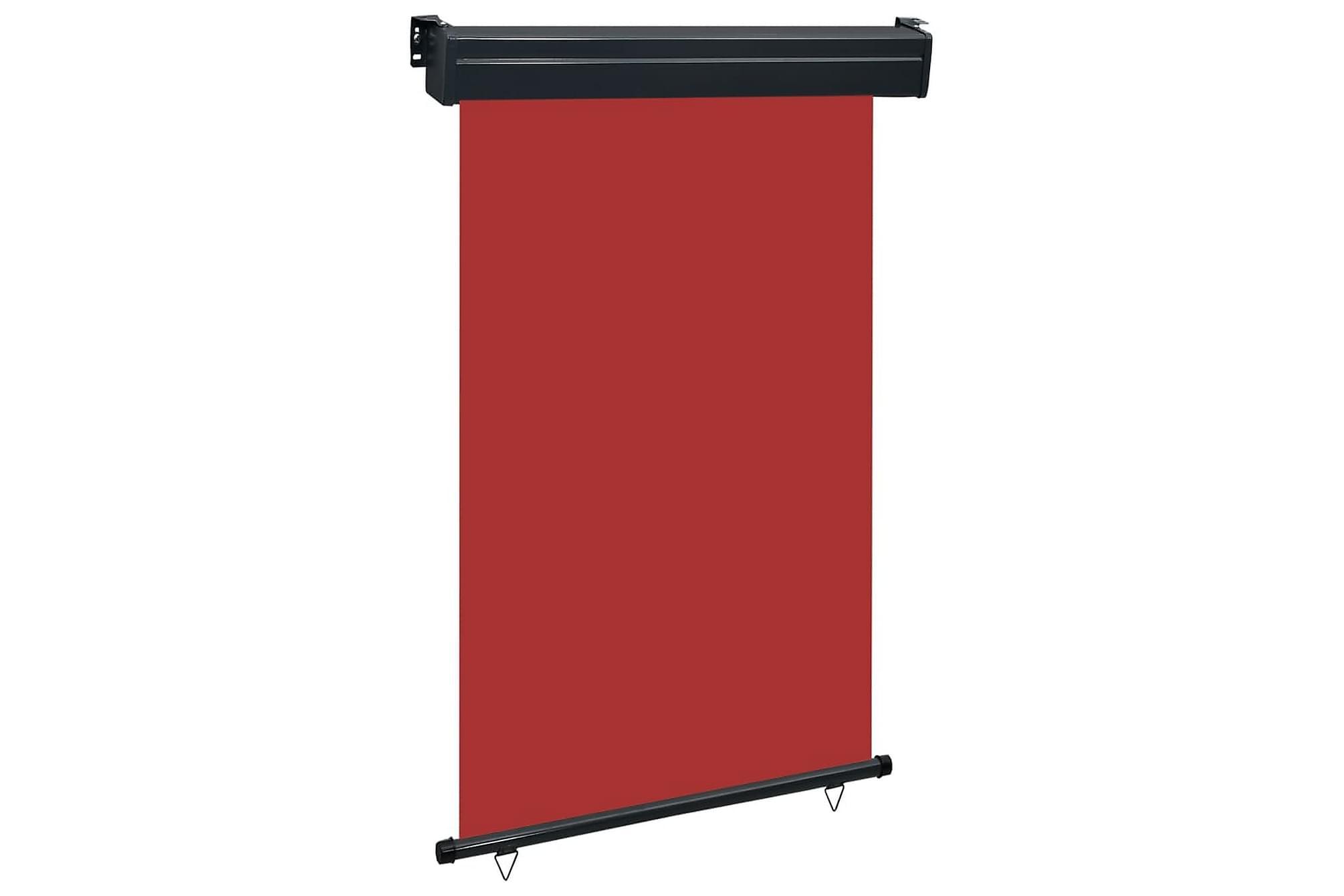 Balkongmarkis 120x250 cm röd, Markiser
