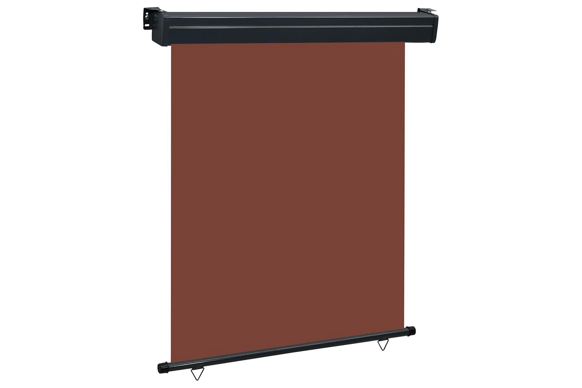 Balkongmarkis 140x250 cm brun, Markiser