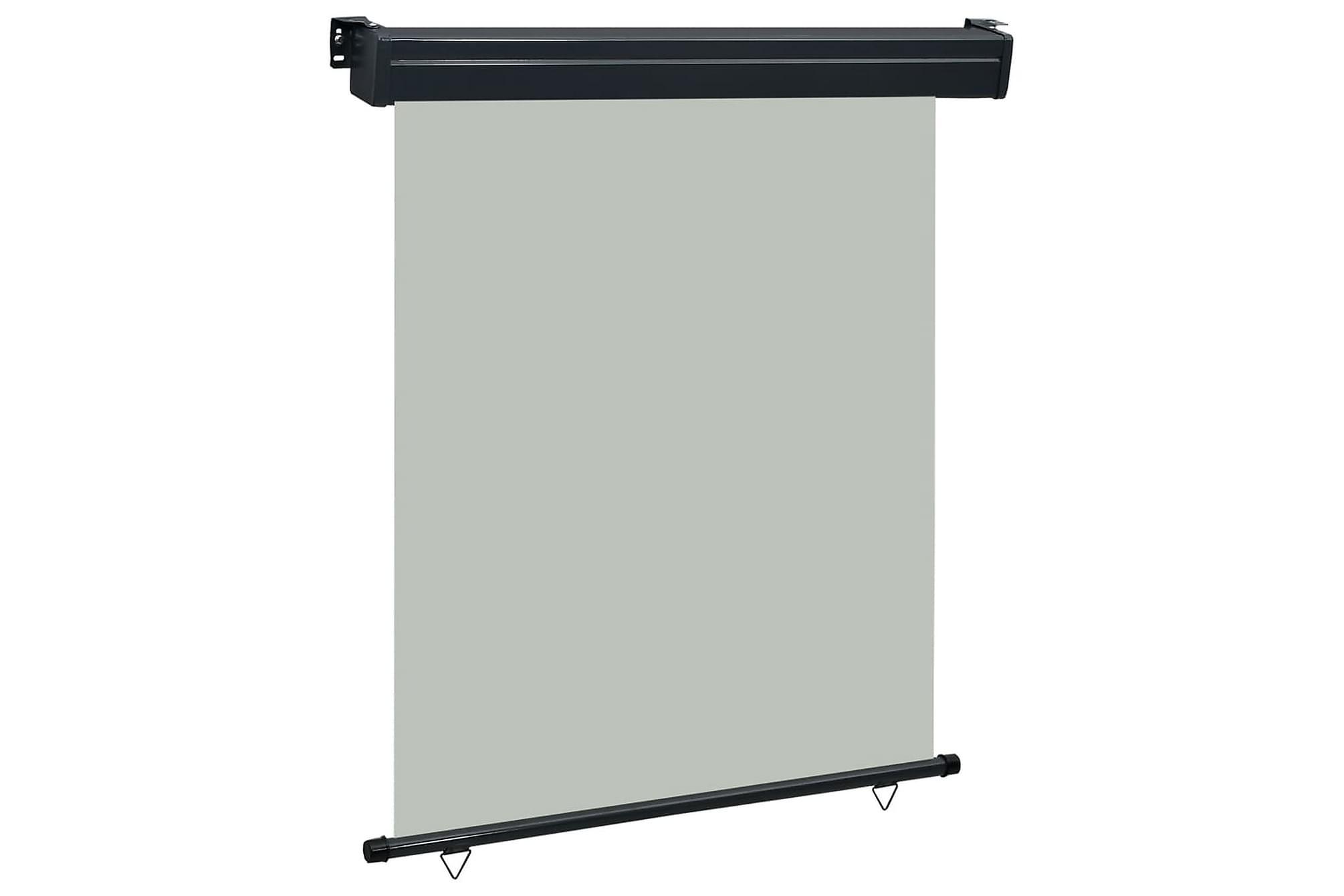 Balkongmarkis 140x250 cm grå, Markiser