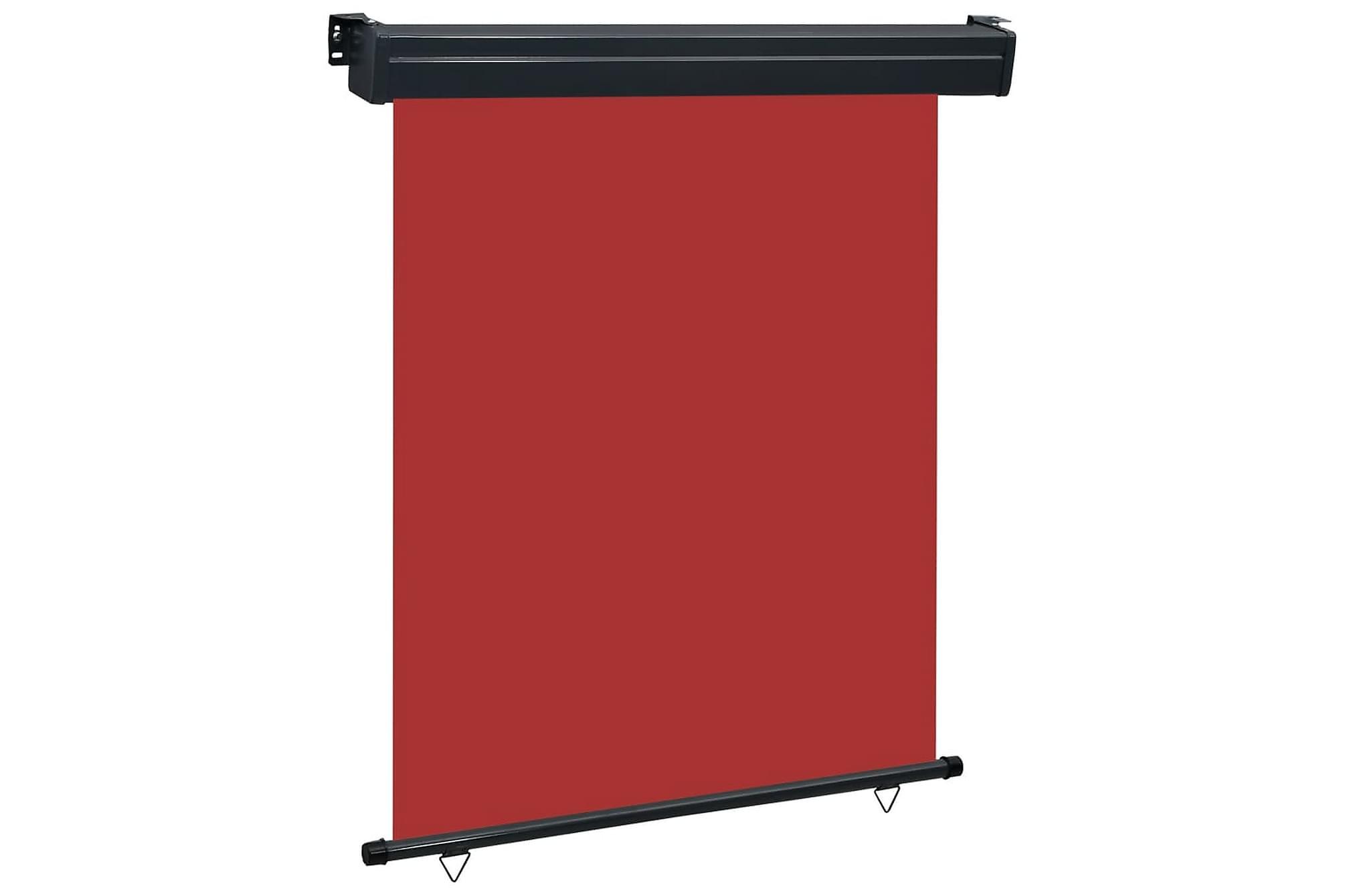 Balkongmarkis 140x250 cm röd, Markiser