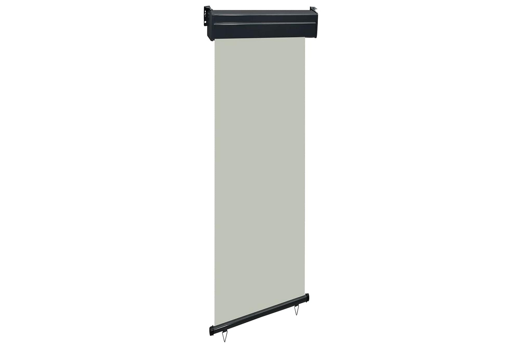 Balkongmarkis 60x250 cm grå, Markiser
