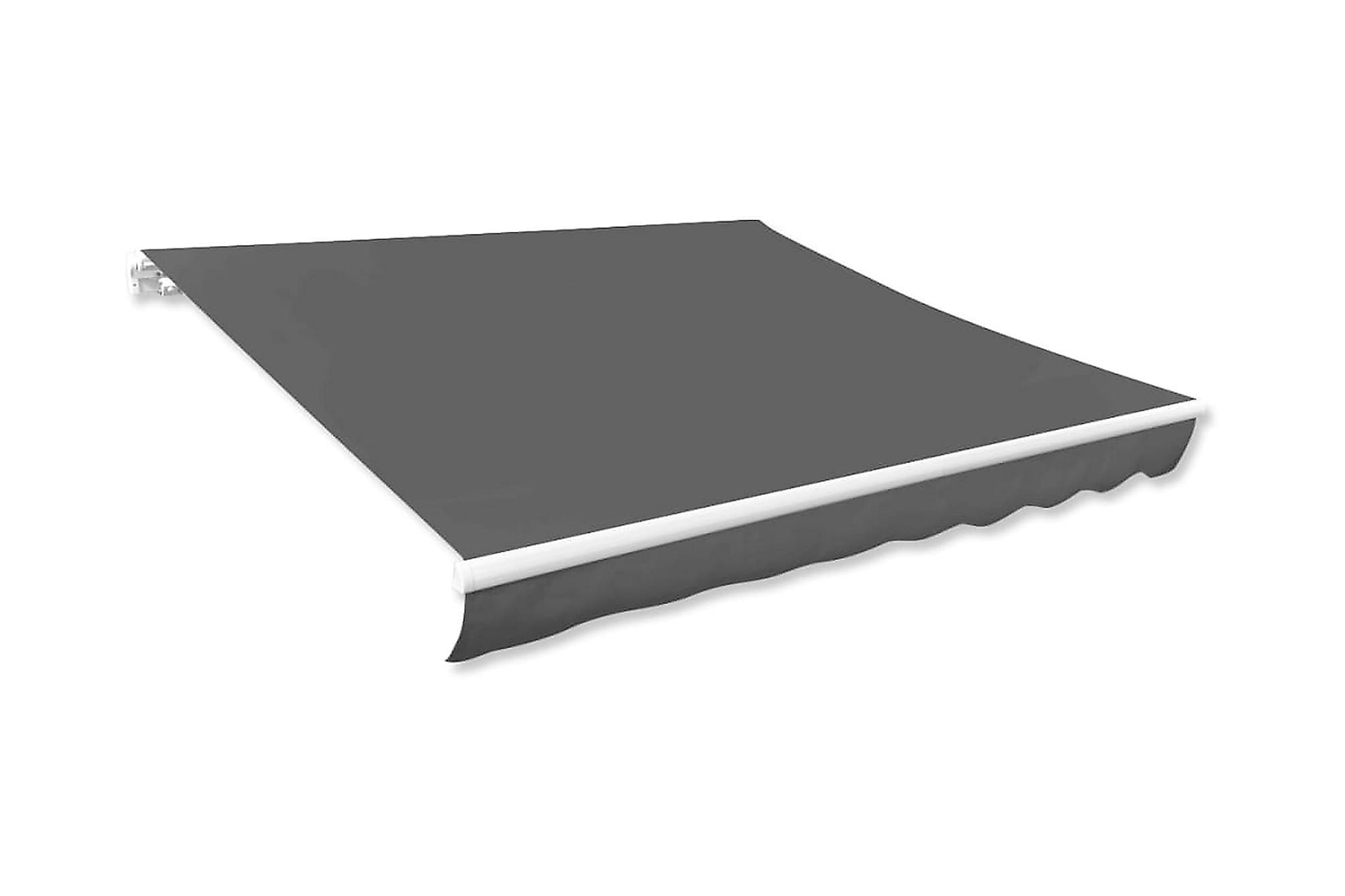 Markisduk antracit 600×300 cm