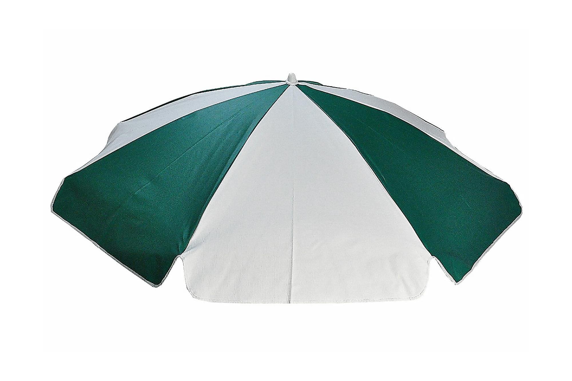 FRITAB Parasoll 180 Grön/Vit, Parasoll