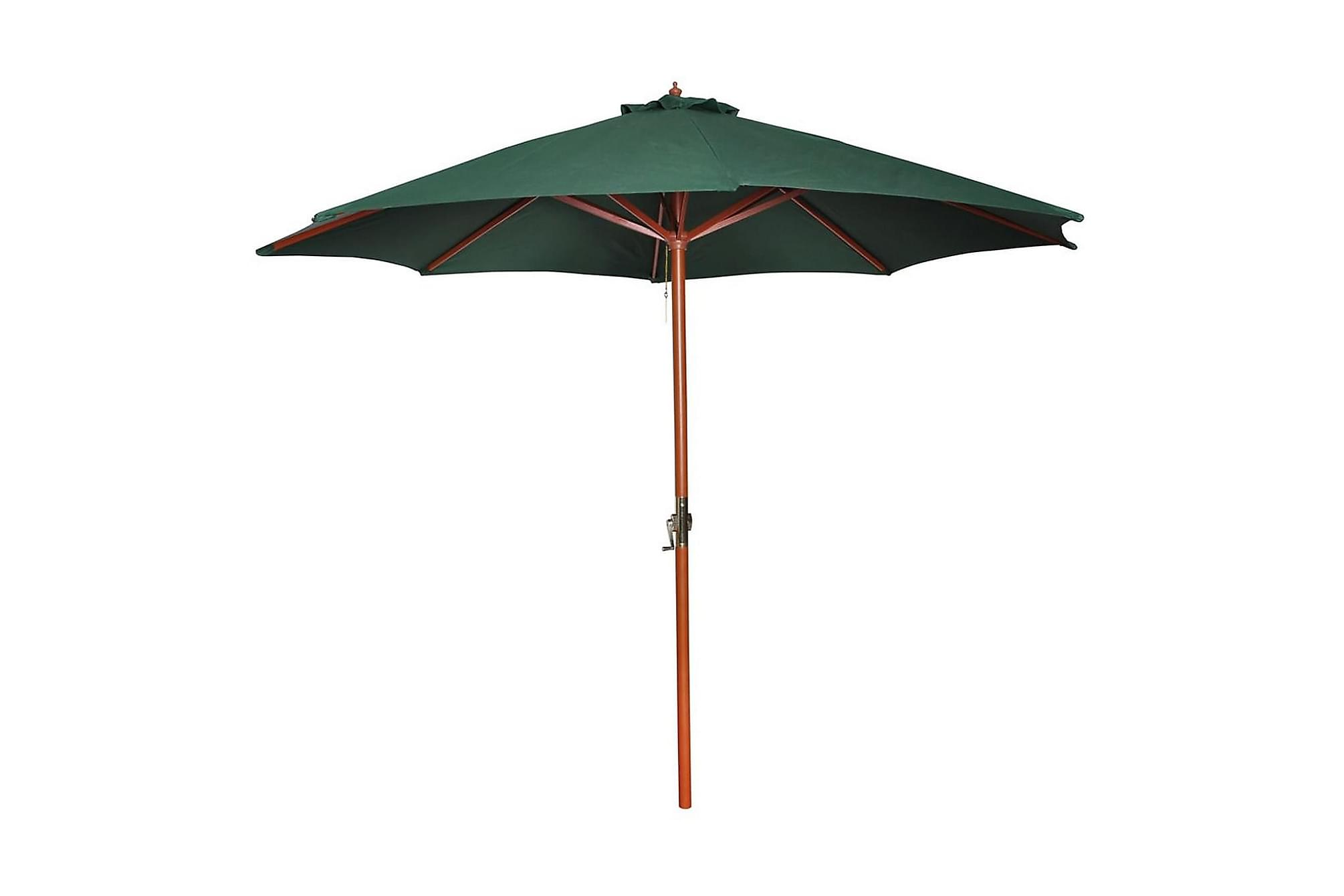 Parasoll 300 cm grön