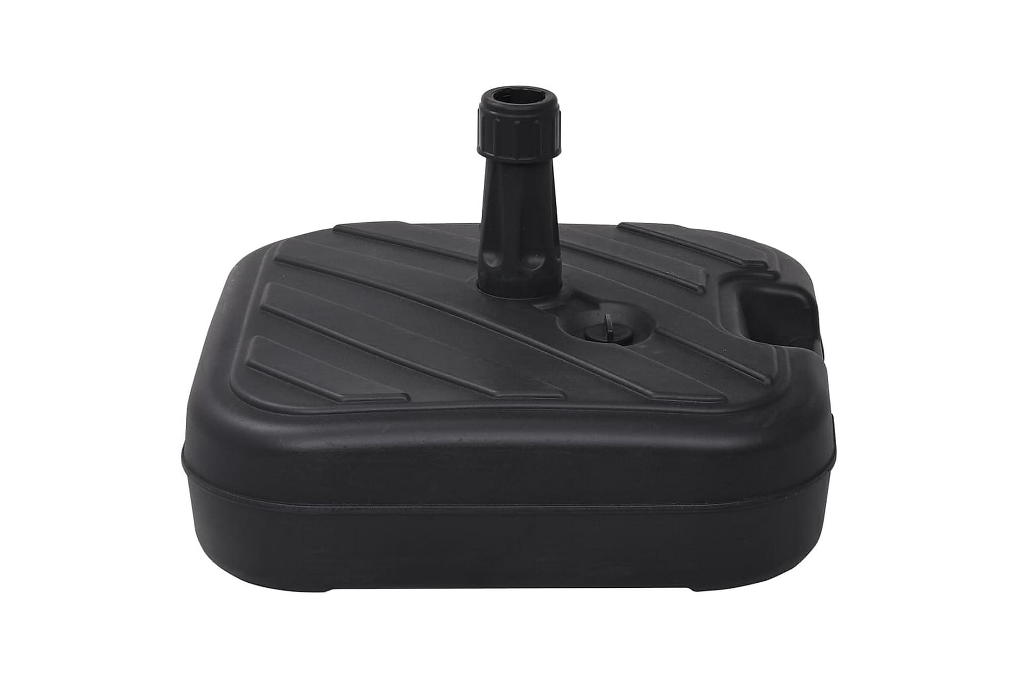 Parasollfot sand/vattenfylld 24 L svart, Parasollfot