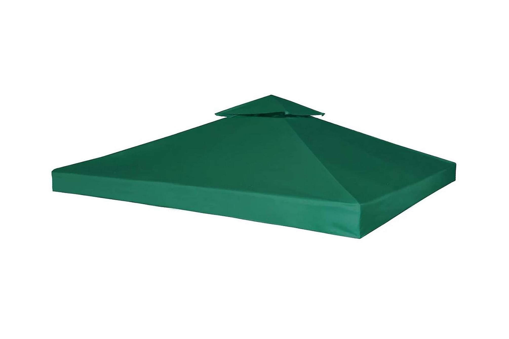Paviljongtak 310 g/m2 3 x 3 m grön