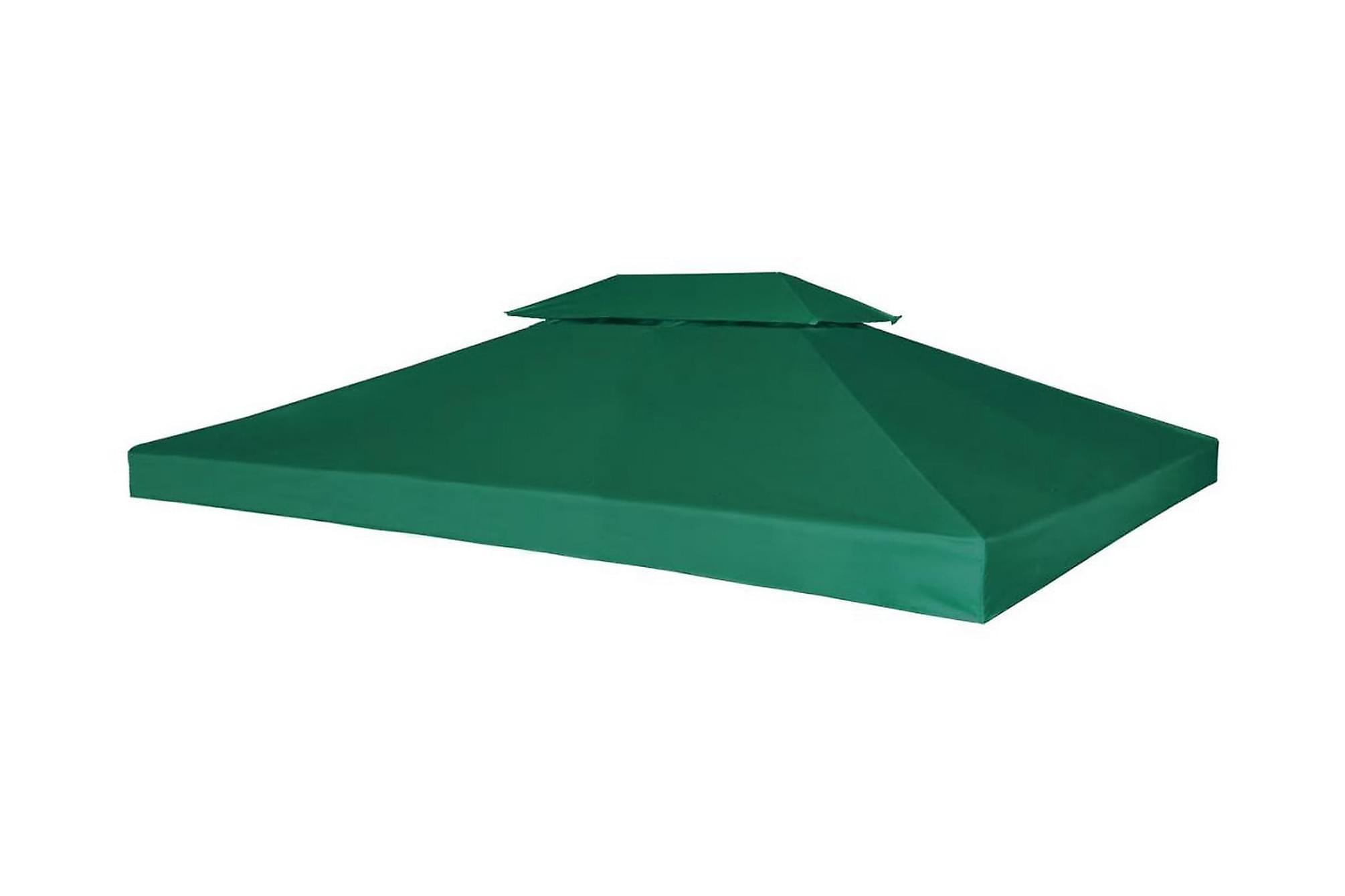 Paviljongtak 310 g/m2 3 x 4 m grön