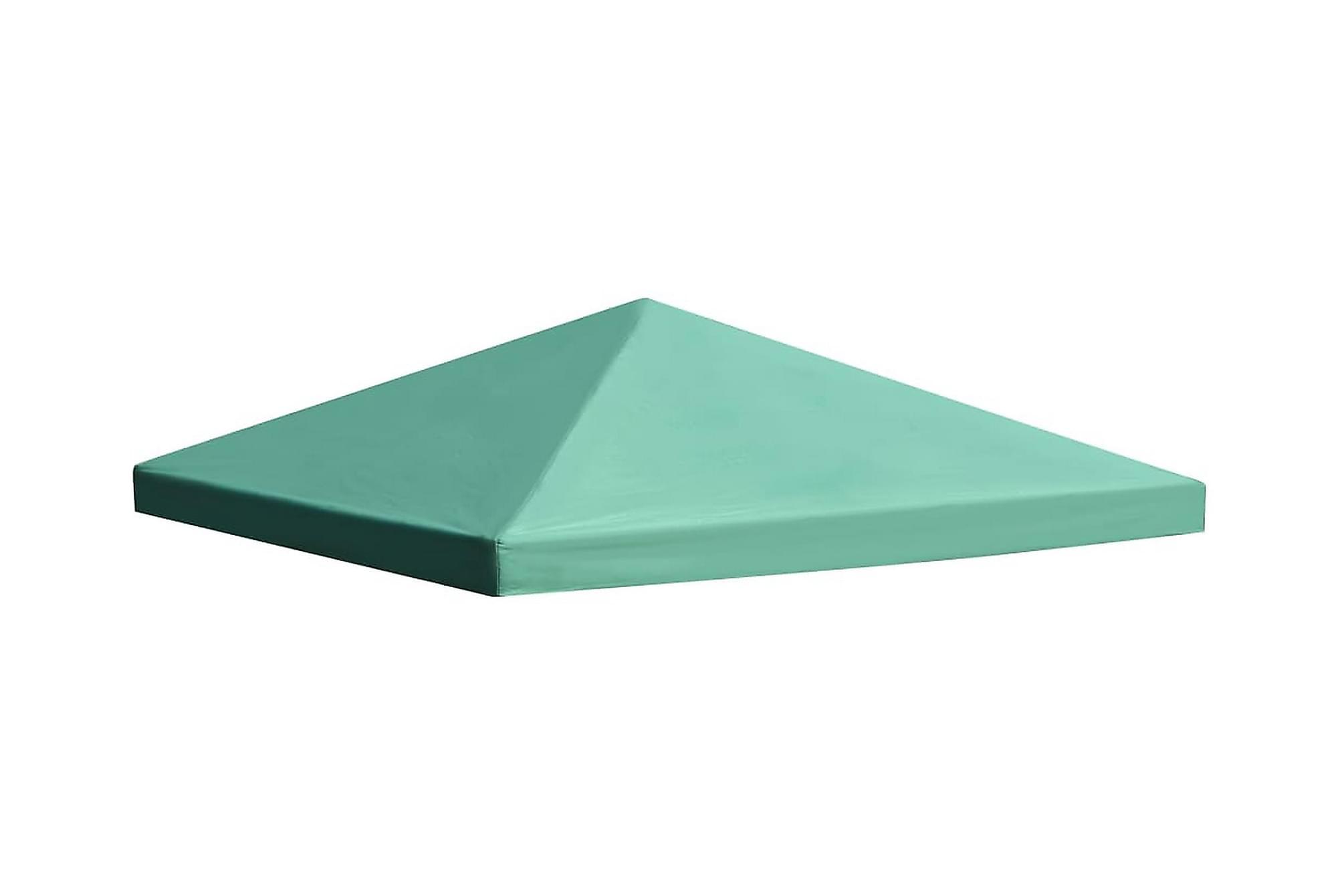 Paviljongtak 310 g/m2 3×3 m grön