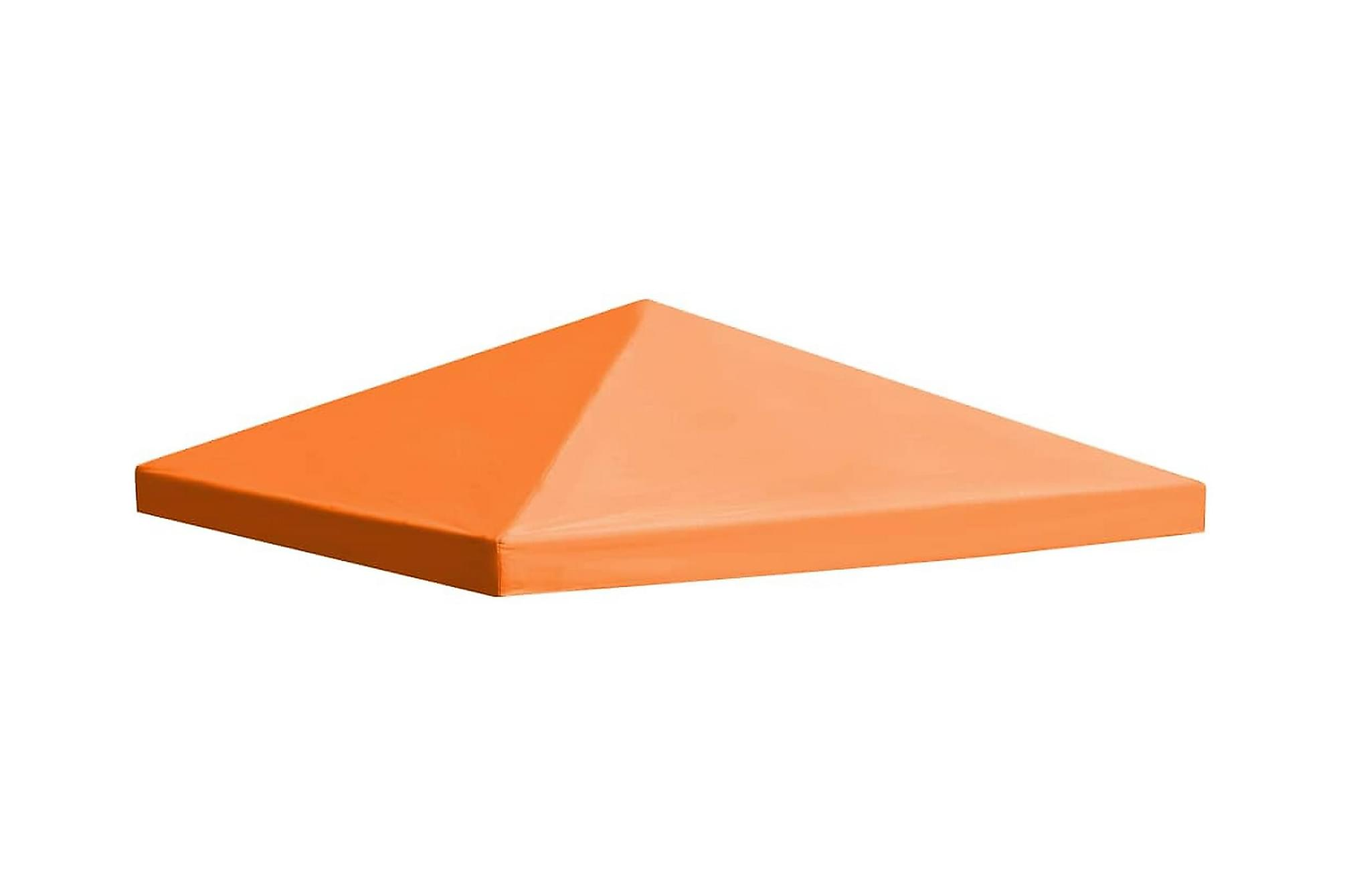 Paviljongtak 310 g/m2 3×3 m orange
