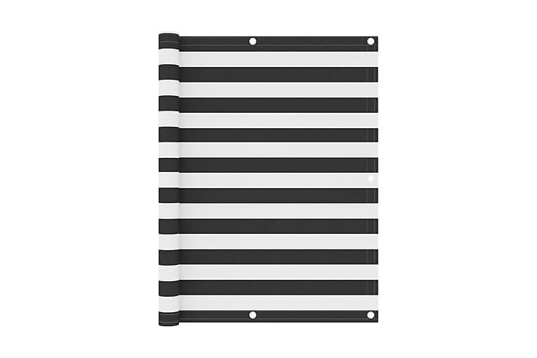 Balkongskärm antracit och vit 120x300 cm oxfordtyg - Flerfärgad - Utemöbler - Solskydd - Övrig solskydd