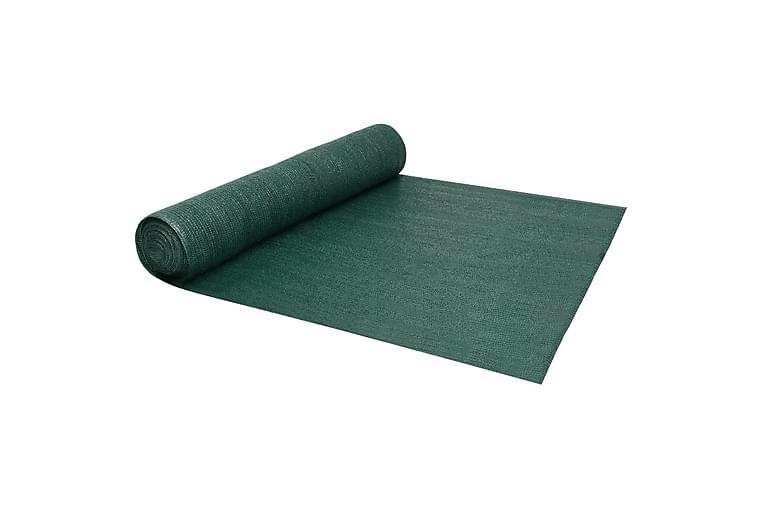 Insynsskyddsnät grön 1,5x25 m HDPE 195 g/m² - Grön - Utemöbler - Solskydd - Övrig solskydd