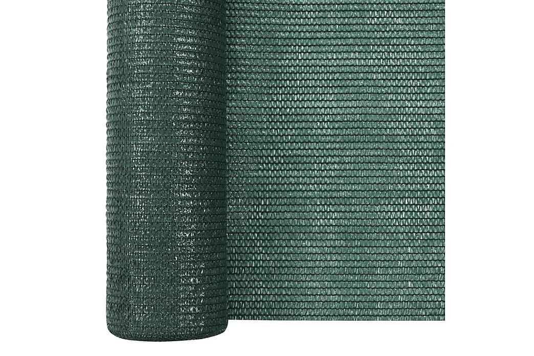 Insynsskyddsnät grön 3,6x10 m HDPE 75 g/m² - Grön - Utemöbler - Solskydd - Övrig solskydd