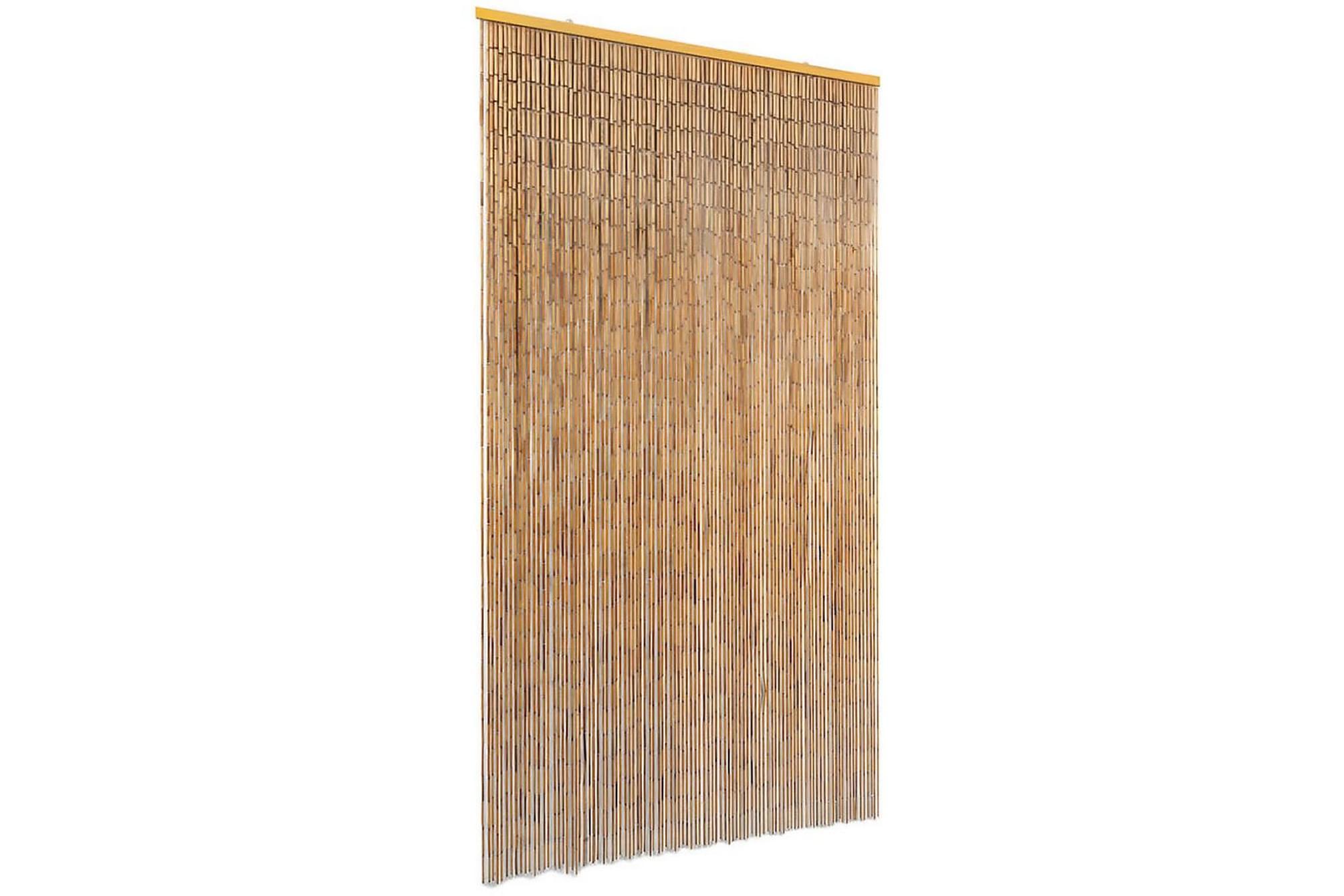 Dörrdraperi i bambu 100x200 cm, Myggnät