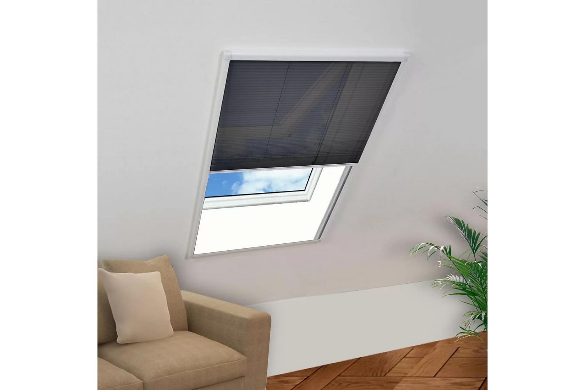 Lemuel Insektsnät Fönster Plisserat 160×80 cm