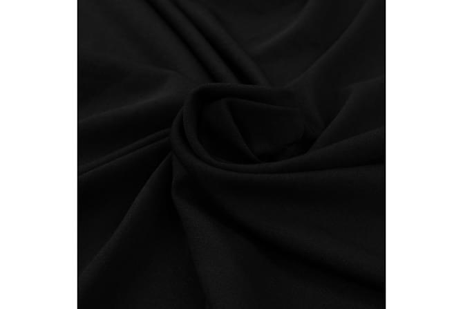 Bordsöverdrag 2 st stretch golvlångt svart 183x76x74 cm - Svart - Utemöbler - Tillbehör - Möbelöverdrag