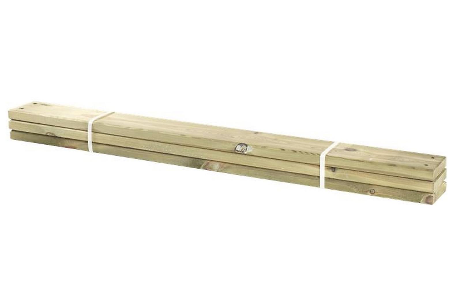 3 st. brädor till Pipe 28x120 mm x120 cm, Övriga trädgårdstillbehör